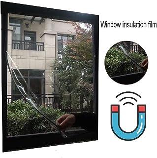 Lona, Kit de Aislamiento para Ventanas de Invierno Panel de protección contra el frío Interno de PVC Transparente para el hogar, 23 tamaños (Color: Transparente, Tamaño: 1.8x2.8m)