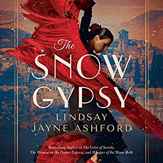 The Snow Gypsy audiobook cover art