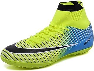 f080bdd20 Naughty KK New Soccer Boots for Unisex Men/Women Professional Soccer Shoes  High-Top