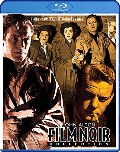 John Alton Film Noir Collection (T-Men / Raw Deal / He Walked by Night) - The ClassicFlix Restorations on Blu-ray