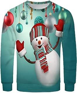 Men&Women Ugly Christmas Couple's Sweater Funny Sweatshirt Long Sleeve Pullover