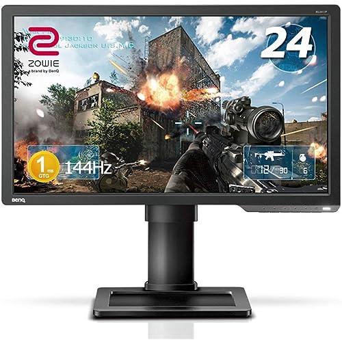 2位:BenQ ゲーミングモニター ZOWIE XL2411P 24インチ(画像はAmazon.co.jpから引用)