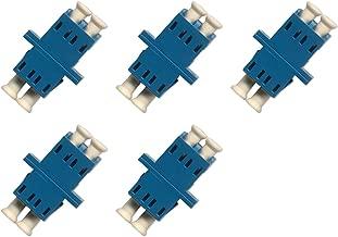 Fiber Optic Cable Adapter/coupler LC-LC Duplex Singlemode 5 Pack
