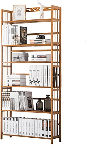 popular Biblioteca Biblioteca Biblioteca Sexy 4 5 6-tier Bookcase Modern High Capacity Bamboo Simple Estante de Madera Maciza de múltiples Capas Simple Bookshelf (Tamaño   80  26  175cm)  promociones emocionantes