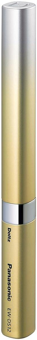 富彫る国民投票パナソニック ポケットドルツ 音波振動ハブラシ ゴールド EW-DS12-N