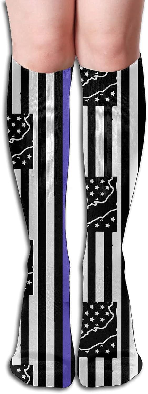 Florida Thin Sale SALE% OFF Blue Line Police Socks service Athletic Men Women for Sock
