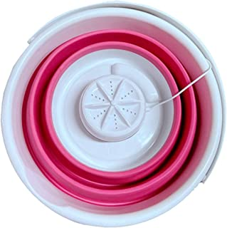 perfk Tvättmaskin mobil mini tvättmaskin hopfällbar tvättmaskin för resor camping