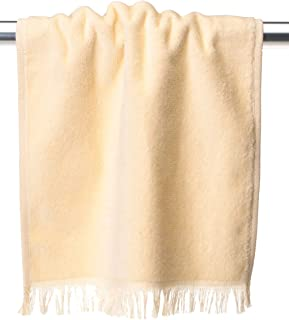 Towels Plus by Anvil Fringed Fingertip Towel (T600)-Vanilla,One Size
