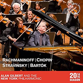 Rachmaninoff: Vocalise - Chopin: Piano Concerto in F Minor - Stravinsky: The Firebird Suite - Bartók: The Miraculous Mandarin Suite
