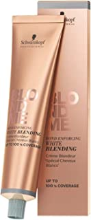 Schwarzkopf BlondMe Bond Enforcing White Blending Cream, Ice Cream, 0.11 kg
