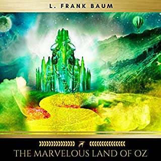The Marvelous Land of Oz audiobook cover art