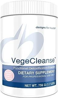 Designs for Health VegeCleanse - Berry-Vanilla Pea Protein Detox with 14g Pea Protein VegeCleanse (21 Servings / 756g)
