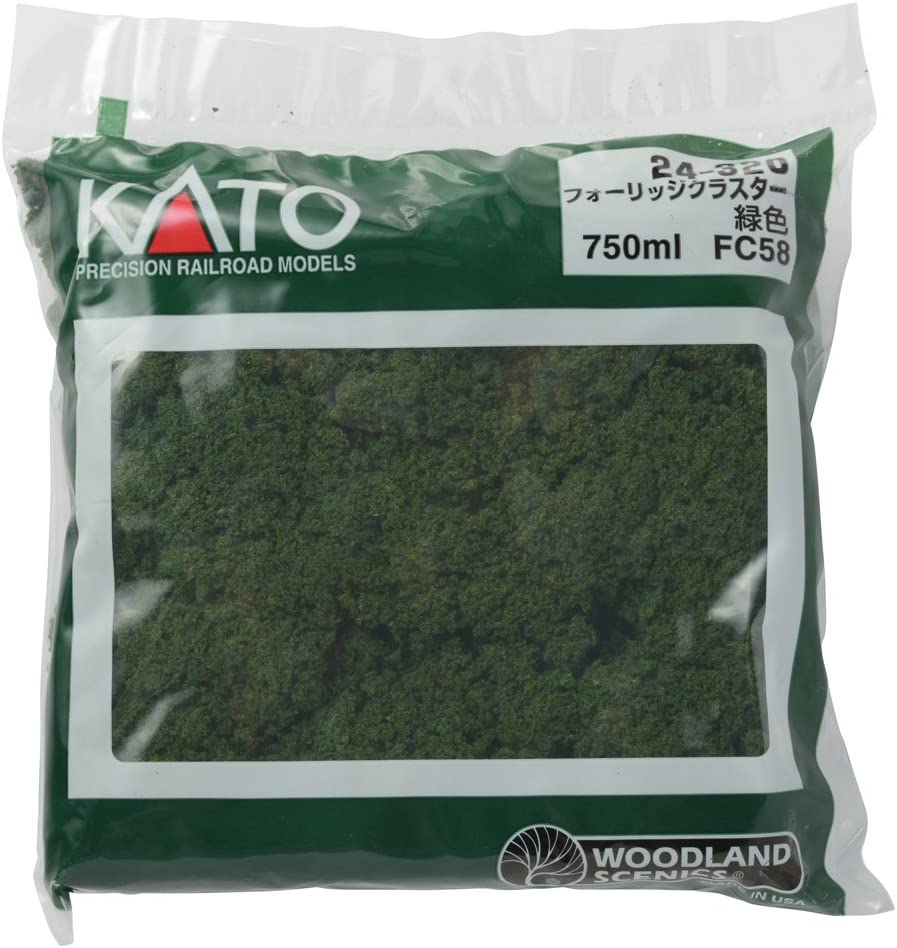 Kato 24-320 Foliage Clusters Now free shipping Green Over item handling ☆ Medium