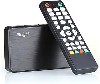 InLight HD023 メディアプレーヤー 選べる付属ケーブル(HDMI接続・VGA接続・AVコンポジット接続) MP4・FLV・MOV対応 USBメモリ・SDカード対応 写真や動画をテレビで再生 トワークメディアプレーヤー
