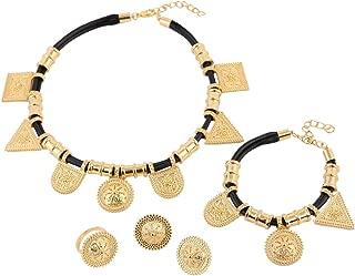 Wholesale Eritrea Habesha Ethiopian Jewelry 24k Gold Plated Africa Wedding Women Jewelry