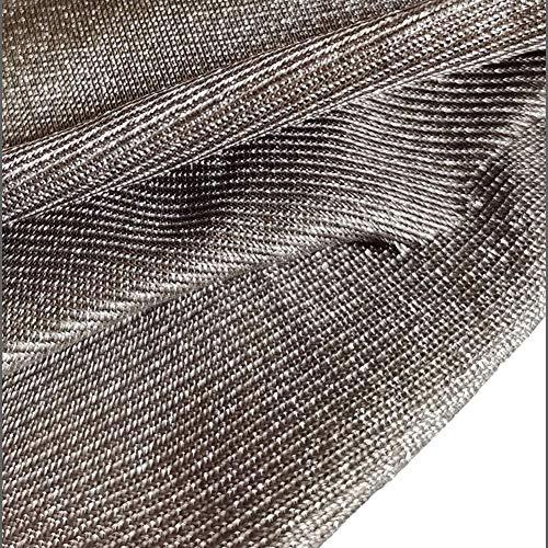 CEXTT 100% Fibra DE Plata Anti-RADIACION Tela Material de Plata El Tejido de Escudo electromagnético, se Puede Usar en blindaje, Cortinas, Ropa, Tiendas de campaña, etc. (Size : 5m/16ft)