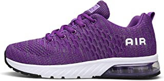Lewhosy Womens Mens Air Cushion Ultra Athletic Running Shoes Lightweight Breathable Casual Mesh Tennis Sneakers