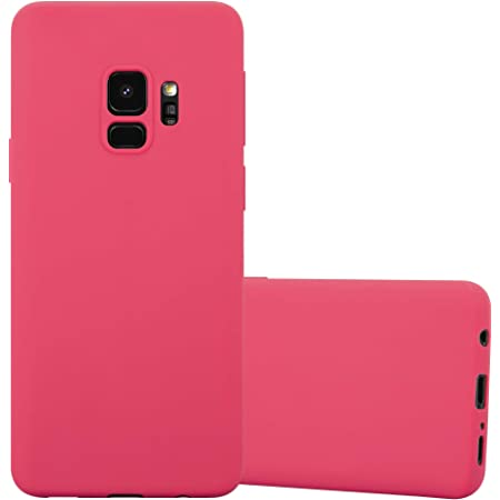 Cadorabo Hülle Für Samsung Galaxy S9 In Candy Rot Elektronik
