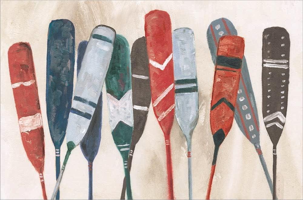 Pattern OFFer Paddles by Dogwood Portfolio Laminated Print x 1 24 Sacramento Mall Art