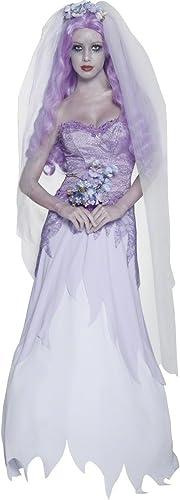 la calidad primero los consumidores primero Smiffy's - Disfraz de novia fantasma gótica, Talla Talla Talla UK 16-18 (33585L)  precio al por mayor