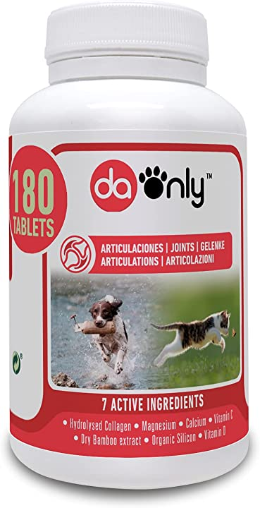 Integratore antinfiammatorio per cani e gatti - per articolazioni e condroprotettori (compresse 180) daonly B01LQ8W4HQ