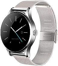 PLY Smart Watch Bracelet IP67 Waterproof Fitness Tracker Smart Watch|Bluetooth|Replaceable Steel Strip|Compatible iOS|Andr...