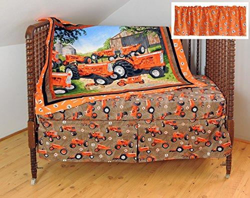 Allis Chalmers AC Tractor Crib Bedding Nursery Set
