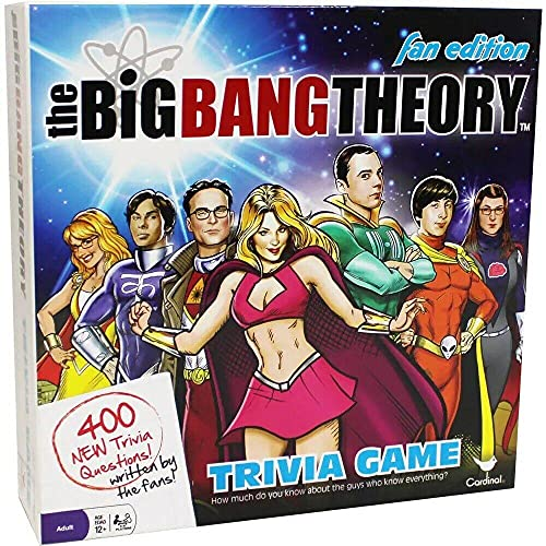 Big Bang Theory, Ultimate Genius Party Game for Teens, Adults, & Kids 12&up