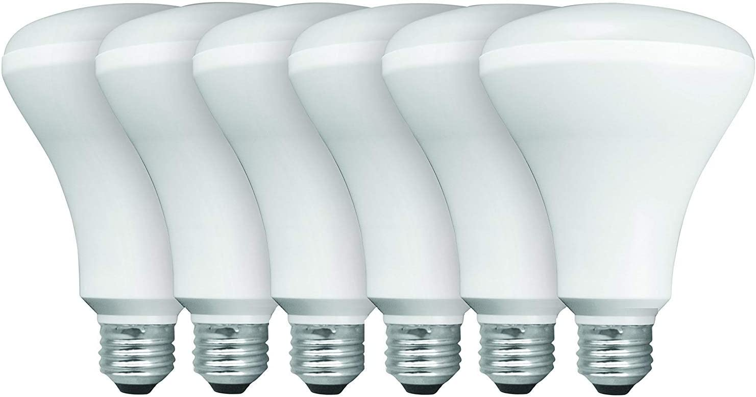 TCP 65W Equivalent 6-pack LED Light Bulbs BR30 discount Flood Non-Dimmab Max 44% OFF