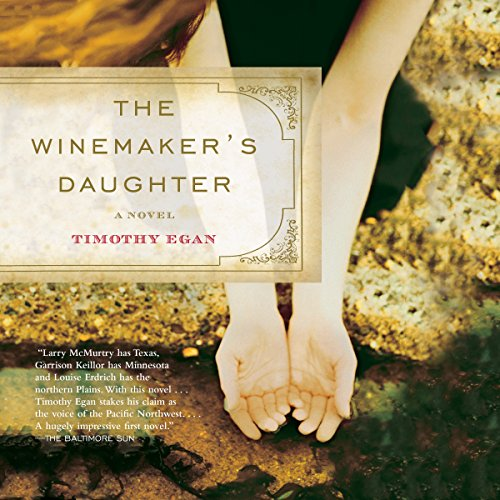 The Winemaker's Daughter audiobook cover art