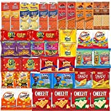 Crackers Variety Pack Individually Wrapped Assortment Including Crackers and Cheese Snack Pack, Crackers with Peanut Butter, Lance, Goldfish, Ritz, Austin, Cheez-Its and More Bulk (40 Count)