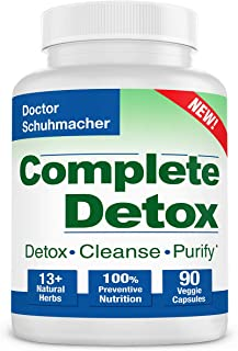 Sponsored Ad - Longevity Complete Detox [New Formula] - Rapid Whole Body Detox - 10 + Natural Herbs - Scientifically formu...