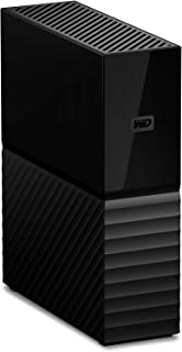 WD 4TB My Book Desktop External Hard Drive, USB 3.0 - WDBBGB0040HBK-NESN,Black