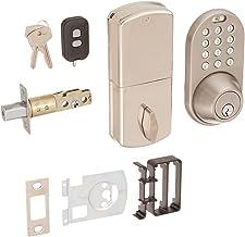 Fechadura digital MiLocks XF-02SN com entrada sem chave através de controle remoto e código de teclado para portas externas