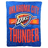 NBA'Clear Out' Super Soft Plush Throw Blanket (Oklahoma City Thunder)