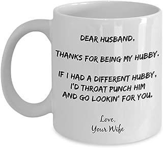wife punch mug