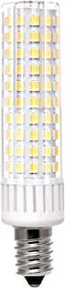 Lanyue E14 led Candle Small Screw Light Bulbs 9 watt,100W Equivalent, AC 110V 120V 130V,Non Dimmable,3000k Warm White