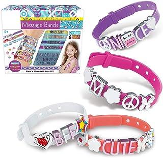 yeesport Girls Bracelet Making Kit DIY Handmade Jewelry Making Kit Alphabet Bracelet Kit Letter Charm Bracelet Kit Charm B...