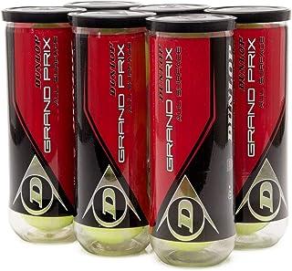 Bola de Tênis Dunlop Grand Prix All Surface Pack com 6 Tubos