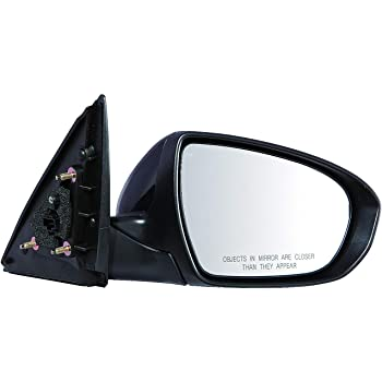 Mirror Compatible with 2014-2019 Kia Soul Power Manual Folding Heated Paintable Passenger Side