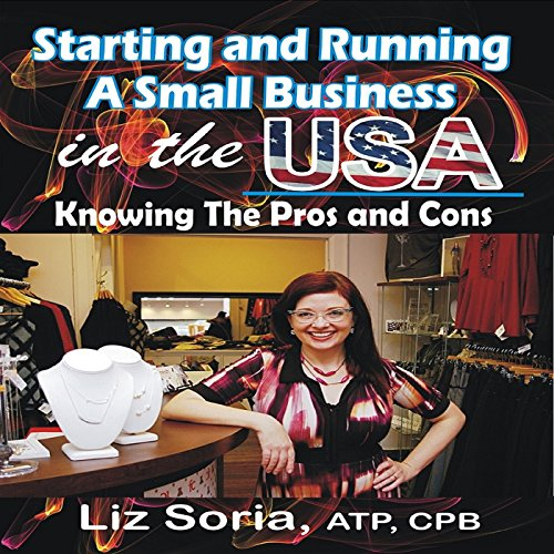 Starting and Running a Small Business in the USA audiobook cover art