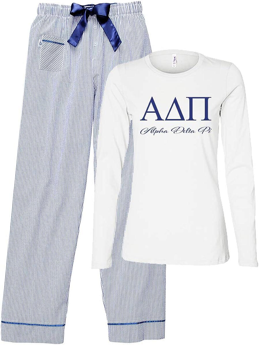 favorite Alpha Delta Pi Direct sale of manufacturer Set Pajama
