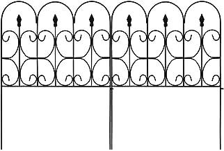 Best decorative iron garden fence Reviews