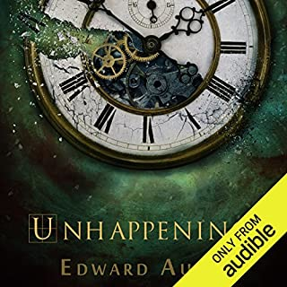 Unhappenings audiobook cover art