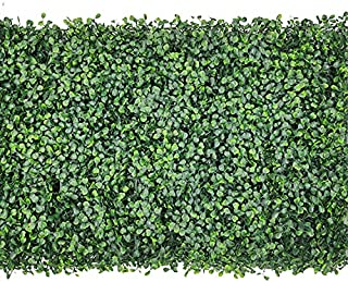 TSM Follaje Artificial Sintetico para Muro Verde 60x40cm Pared de Flores Artificiales follaje Pared follaje Artificial Ext...