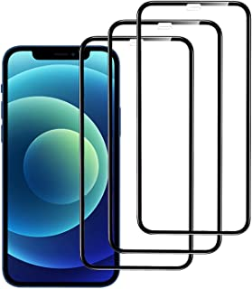 Anjusok Screen Protector Compatible for iPhone 11 Pro Max/iPhone Xs Max 3 Pack 6.5 Inch 2019/2018 Release Tempered Glass F...