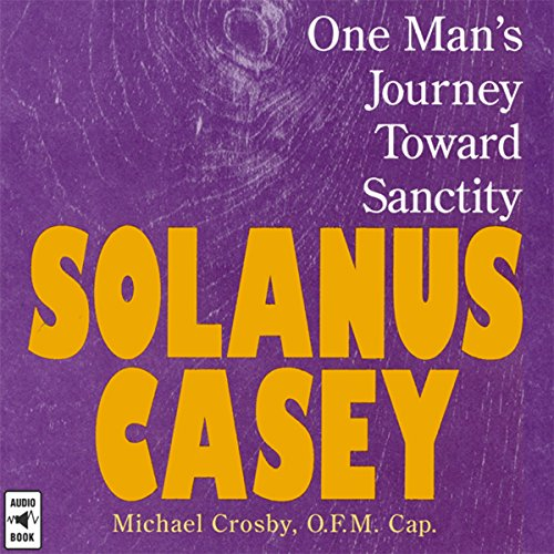 Solanus Casey audiobook cover art