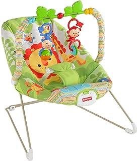 كرسي هزاز بتصميم رينفورست فريندز من فيشر برايس، اخضر اللون [BCG47]