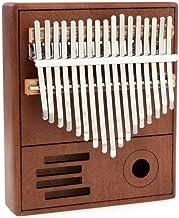 MAODOXIANG Thumb Pianos Kalimba Thumb Piano 17 Key Mahogany Acacia Wooden Musical Instruments Mbira Kalimba Hammer Kit Chi...