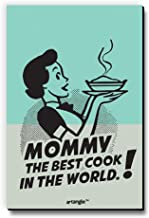 Mommy The Best Cook in The World Fridge Magnet/Multipurpose Magnet for Home/Kitchen/Office by Seven Rays